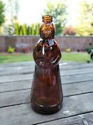 Large Vintage 1980 Mrs. Butterworth Glass Syrup Bottle-thatcher-collectible-nice