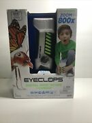 Eyeclops Digital Microscope And Camera With Built In Color Screen -800x Zoom- Wire