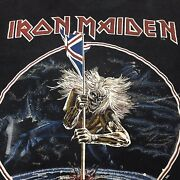 Vintage 80s Iron Maiden Beast On The Road World Tour 1982-1983 Concert T Shirt