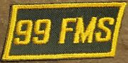 Patch Usaf 99th Field Maintenance Squadron Fms Westover Afb Vintage Original