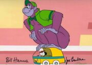 Hanna Barbera-the Great Grape Ape Le Cel Signed By Hanna And Barbera