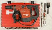 Hilti Te-76 Corded Rotary Hammer Drill W/case And Bits