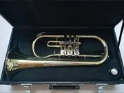 Canex Rotary Flugelhorn Fl-200l Unused Wind Instrument Shipping From Japan