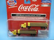 Classic Metal Works N Scale - White Motors Tractor/bottle Trailer Set-coca-cola