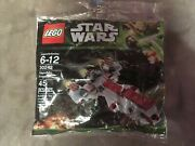 New Lego Star Wars Republic Frigate 30242 Promo Exclusive Sealed Polybag