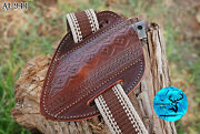 Hand Made Pure Cow Leather Sheath For Knives And Other Tools - Aj 941