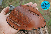 Hand Made Pure Cow Leather Sheath For Knives And Other Tools - Aj 1307
