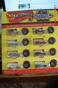 Hot Wheels Vintage Collection Redline Series Exclusive Sam's Clubs Set Of 8 B