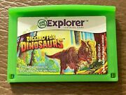 Leapfrog Leapster Explorer Digging For Dinosaurs Game Leap Pad 2 3 Gs Ultra Rare
