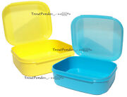 Tupperware Storz-a-lot Flip Top Box Storage Container Storzalot Signature Line 2