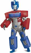 Optimus Prime Inflatable Transformers Fancy Dress Up Halloween Child Costume