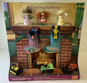 1994 Mcdonaldand039s Happy Meal Display Full Set Toys Cabbage Patch Kids / Tonka
