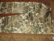 Heavy Two-sided Oriental Asian Table Runner - 13 X 160 - Cranes / Floral
