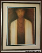 Allen Lewis Pitts Original Art The Mistress 20th Century Signed Dated 1974