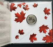 2018 Canada Maple Leaves 10 Pure Silver Coin - Original Rcm Packaging