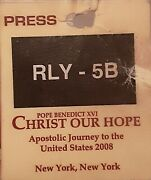 Pope Benedict Xvi Christ Our Hope Rare Collectible 2008 Yonkers Ny. Usa