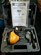 Bostitch High-speed Air Impact Nailer Kit Pn100 W/ Case And Manual