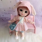 Bjd Mini Cute Face Doll Girl Baby 3d Eyes Beautiful Dolls And Clothes 13 Movable