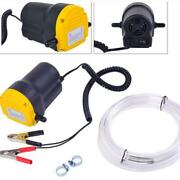 Us 12v Electric Transfer Scavenge Suction Pump Oil Gas Diesel Fuel Extractor Usa