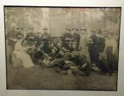 Span Am War Photo 2nd Illinois Infantry Being Taught Spanish In Cuba