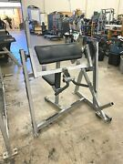 Hammer Strength Seated Bicep Plate Loaded Gym Arm Biceps Exercise Machine