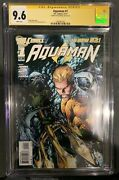 Aquaman 1 Cgc 9.6 New 52 Signed By Joe Prado - 1st Appearance Of The Trench