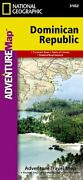 Dominican Republic National Geographic Adventure Map