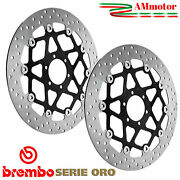 Discs Brembo Aprilia Shiver 750 2009 Brake Floating Pair Front Motorcycle 320 Mm