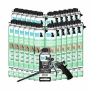 Seal Spray Closed Cell Insulating Foam Can Kit W/gun Applicatorandcleaner 600 Bf