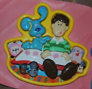 Blues Clues Nick Jr 3d Puzzle Toy Blue Steve Salt And Pepper Hard To Find