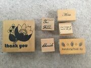 55 X Assorted Wood And Rubber Stamps Mix New/used. Xmas Fashion Plants Etc