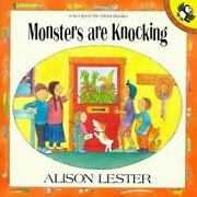 Monsters Are Knocking Open The Door Book By Alison Lester
