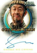 Xena Warrior Princess Beauty And Brawn Autograph George Cheung As Ghengis Khan