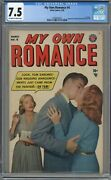 My Own Romance 4 Cgc 7.5 Off-white To White Pages 2nd Best Cgc Copy 1949