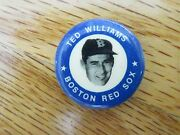 Ted Williams 1969 Mlbpa 1 Button / Pin Boston Red Sox