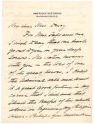 William H. Taft 1917 Autograph Letter Signed - Remembering Admiral George Dewey