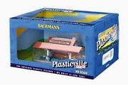 Bachmann Plasticville Ho Scale Built/up Platform Station And Freight Station