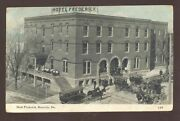 Boonville Missouri Hotel Frederick Horse And Buggy 1914 Vintage Postcard