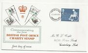 British Post Office Charity Stamp 1975 First Day Cover Canterbury Cancel