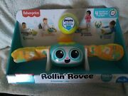 Fisher-price Rollinand039 Rovee Interactive Activity Toy With Music Lights And Lea...
