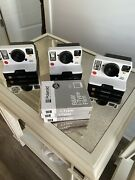 3 Polaroid Onestep 2 I-type Cameras With 3 Packages Black And White I-type Film