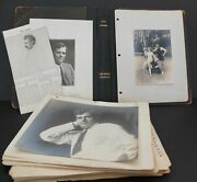 Jack London Photograph And Scrapbook Album In Binder 138 Images Of London And Wife