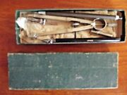 K And E Co. Germany N1069 Compass Pencil Drafting Set Vemco Pencil