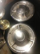 Vintage 2 Chevrolet Impala Hubcaps Wheel Covers 14 In Belair Biscayne