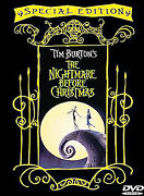 The Nightmare Before Christmas Dvd, 2000, Special Edition Sealed