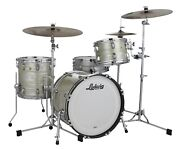 Ludwig Classic Maple Olive Oyster Mod Drum Kit 18x22_8x10_9x12_16x16 Auth Dealer