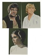 2010 Topps Star Wars Galaxy Series 5 Gold Foil Parallel 15-card Set, /770