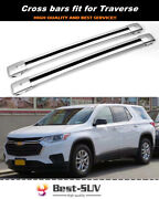 2p Fit For Chevy Chevrolet Traverse 2018-2021 Roof Rail Rack Cross Bar Crossbar