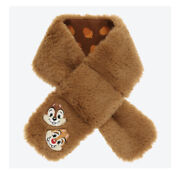 Tokyo Disney Resort Limited Chip And Dale Baby Muffler Theme Park Souvenirs