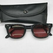 Vintage Uss Very Rare Usn Navy Military Usa Us Sunglasses Glasses Spectacles